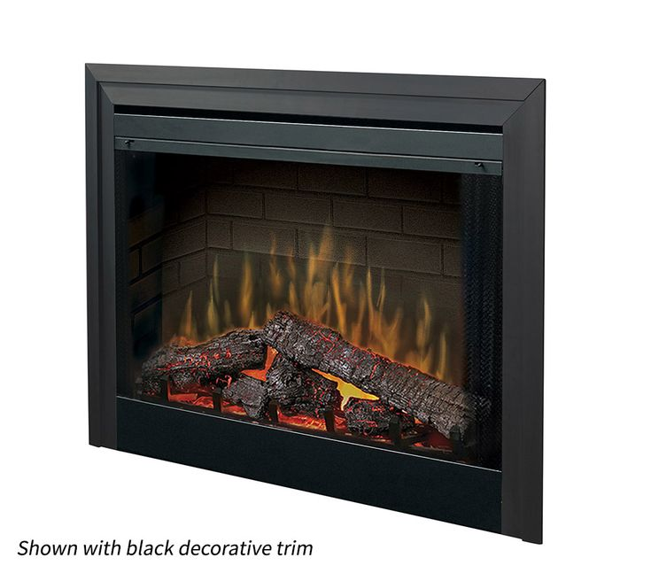 The Dimplex 39 Built In Electric Fireplace Insert - A builder favorite