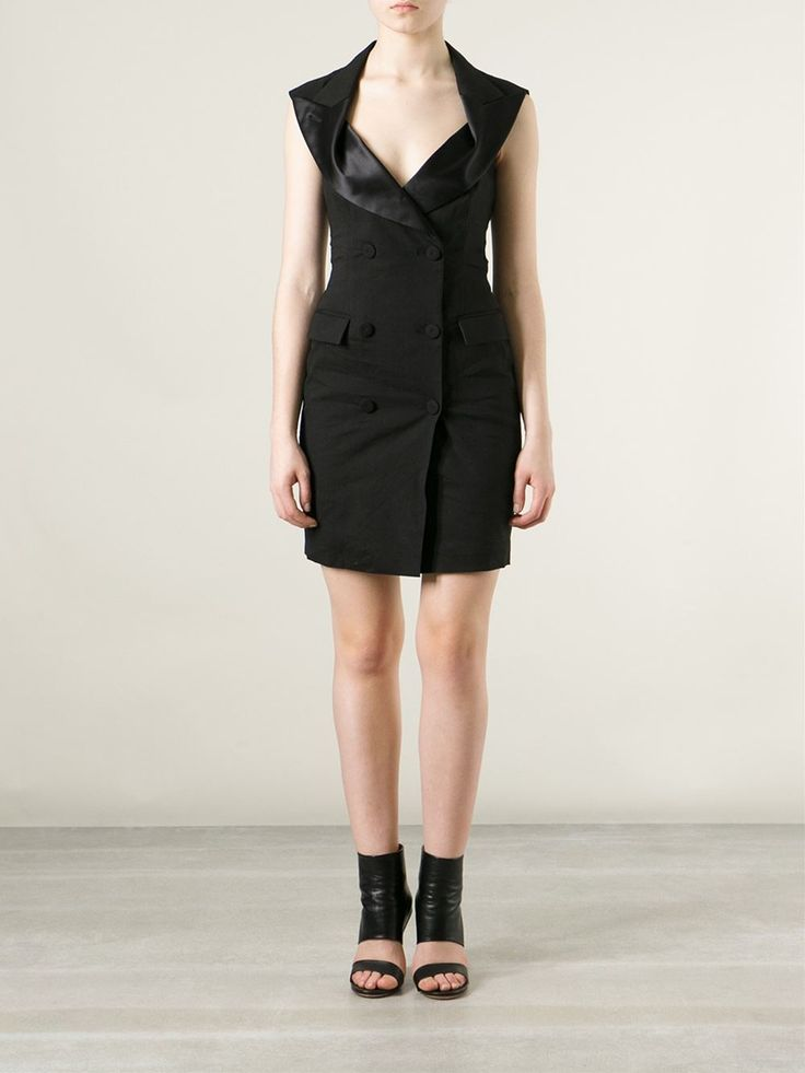 Jean Paul Gaultier Tuxedo Style Dress - Jean Pierre Bua - Farfetch.com