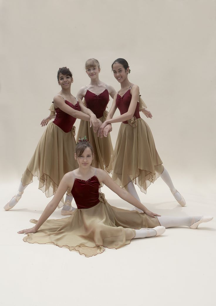 fall fairies, classical ballet
