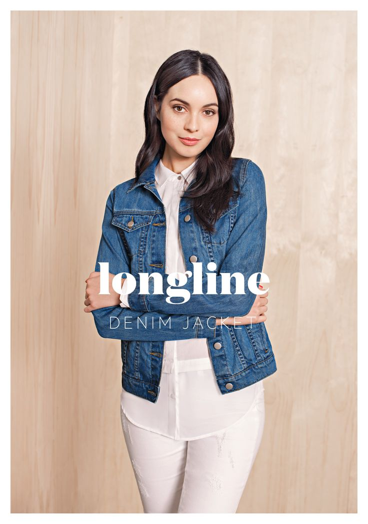 Long Line Denim Jacket