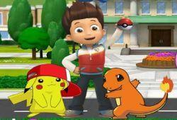 Ryder de Paw Patrol necesita tu ayuda para hacerse con todos los Pokémon Go. Usa el celular de Ryder para buscar y capturar a los Pokémon Go como si estuviese jugando al verdadero juego de Pokémon Go apk. Aquí no hay cheats ni hack, tendrás que trabajártelo si quieres hacerte con todos. ¡Buena suerte!.