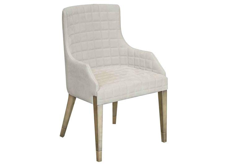 Cadeira estofada de tecido com braços MADAME C/B by Capital Collection by Atmosphera