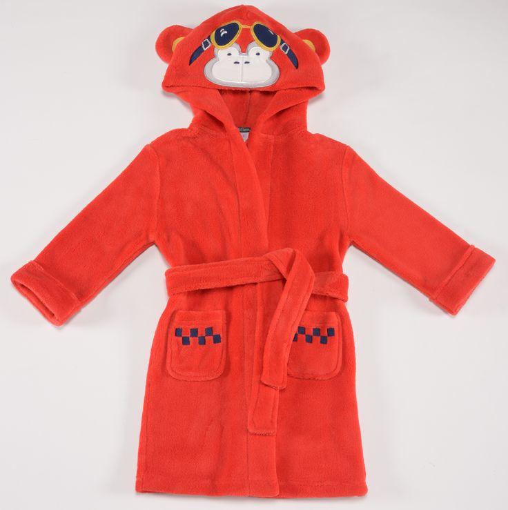 Petit Lem red monkey robe $38.95  http://www.planetpyjama.com.au/dressing-gowns/