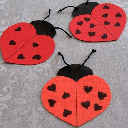 St`Valentines day crafts photo.