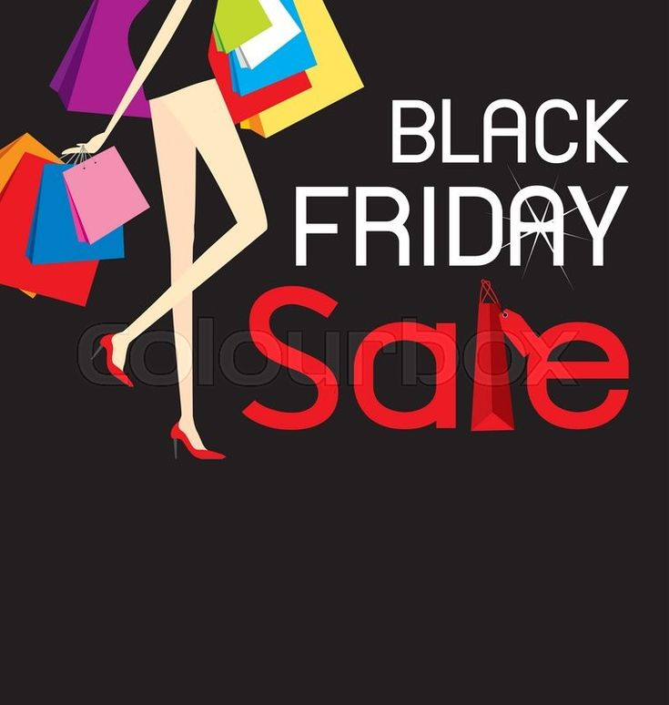 Black Friday vector graphic by Colourbox.