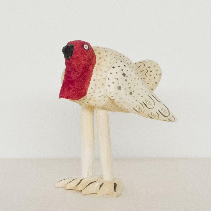 70年代メキシコ、オアハカで作られていた七面鳥のウッドカービングを当時の製法にこだわって復刻しました