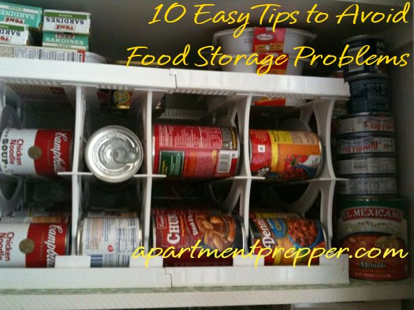 10 Easy Tips to Avoid Food Storage Problems