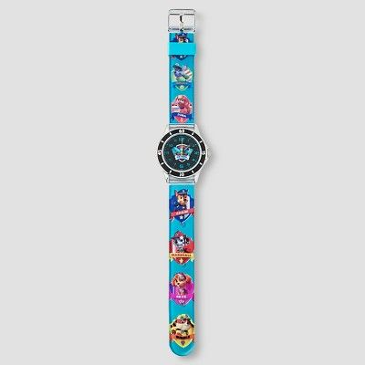 Kids Paw Patrol Analog Watch - Blue, Boy's, Arctic Aqua