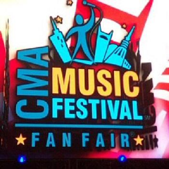 CMA Music Fest - previously known as Fan Fair - a time when country artists recognize the fans for all they do to help their careers.  Its amazing - people from all over the world descend on Nashville for a week in June every year and you just never know who you will see and what suprise shows will occur.   #onlyinnashville