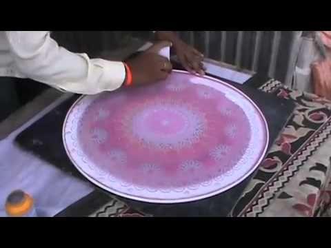 Awesome art..Rangoli design.. - YouTube