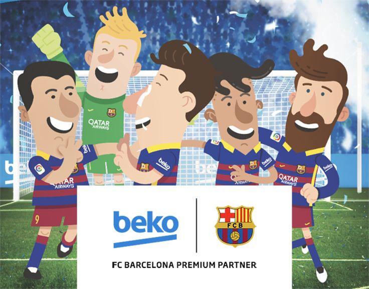 "Check out my @Behance project: ""Beko | FC Barcelona Official Partner of Play"" https://www.behance.net/gallery/52261933/Beko-FC-Barcelona-Official-Partner-of-Play  #Football #fcb #fcbarcelona #barcelona #cartoons #player #messi #suarez #pique #beko #appliance"