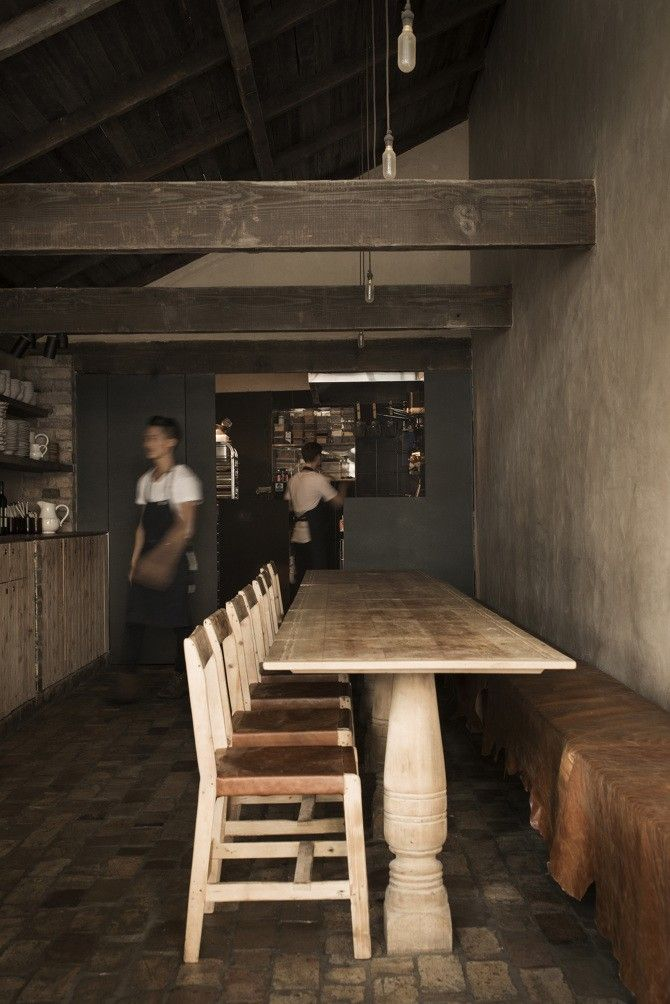 Gallery of inspirational architectural and home design imagery and photos of Restaurants in the Remodelista.