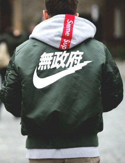 Bomber Nike x Supreme