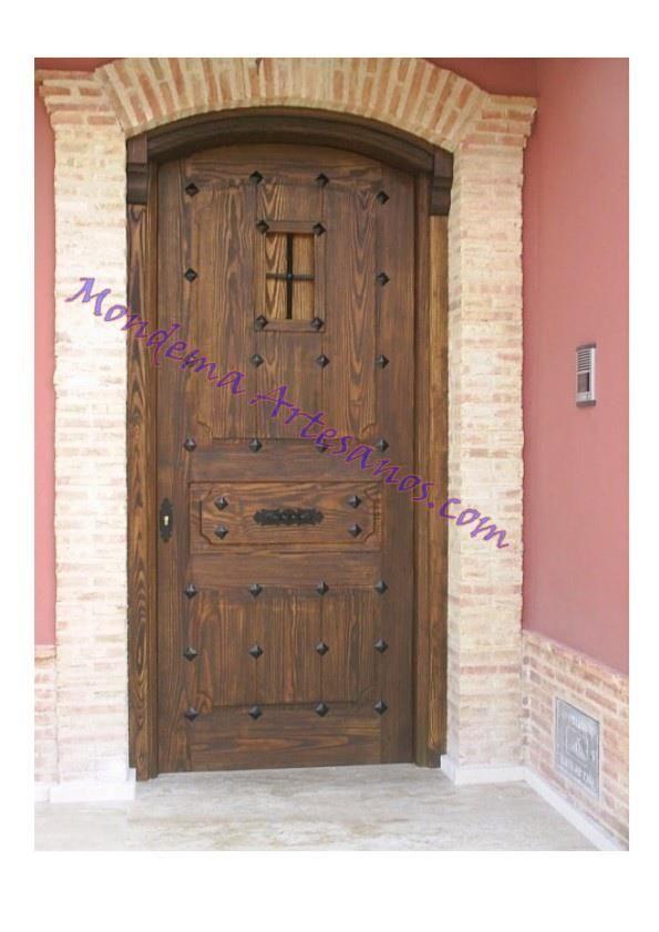 puerta rustica de exterior