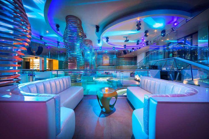 The Heaven Nightclub at the Hard Rock Riviera Maya.