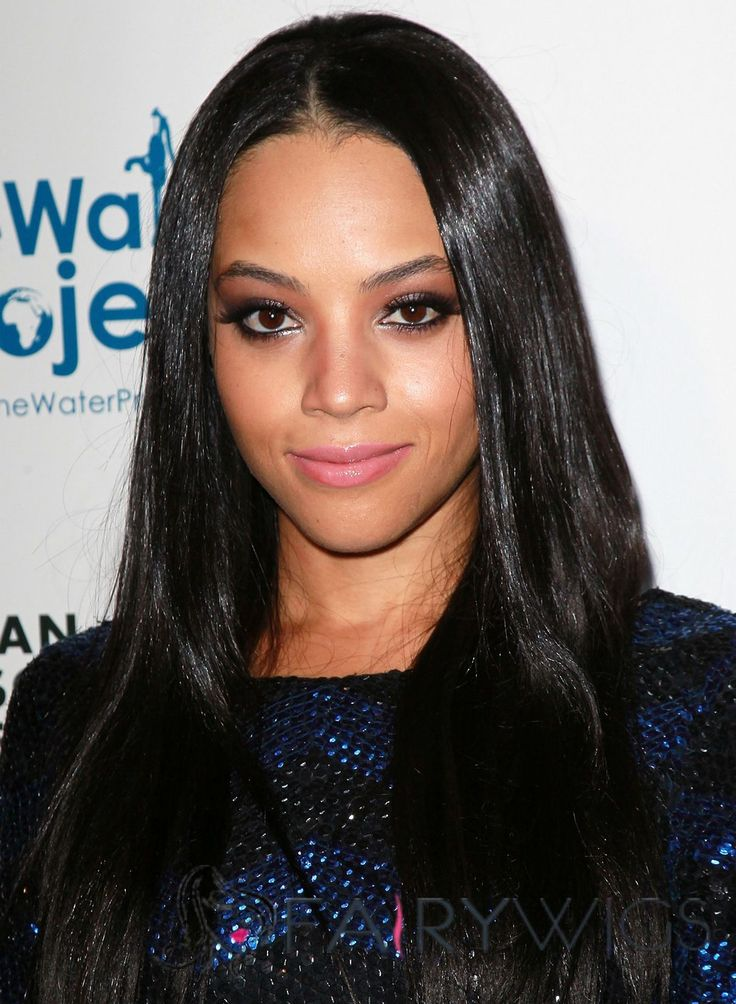 straight black hair ideas