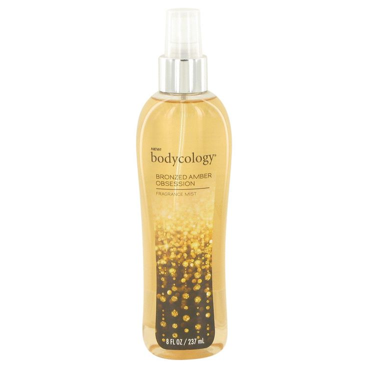 Bodycology Bronzed Amber Obsession Perfume By Bodycology Fragrance Mist Spray 8 Oz (240 Ml) For Women