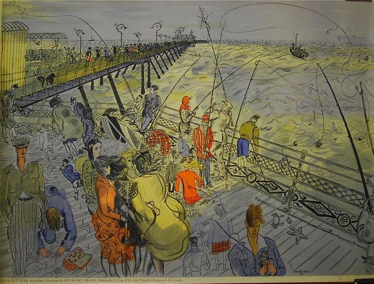 Anthony Gross, Herne Bay Pier