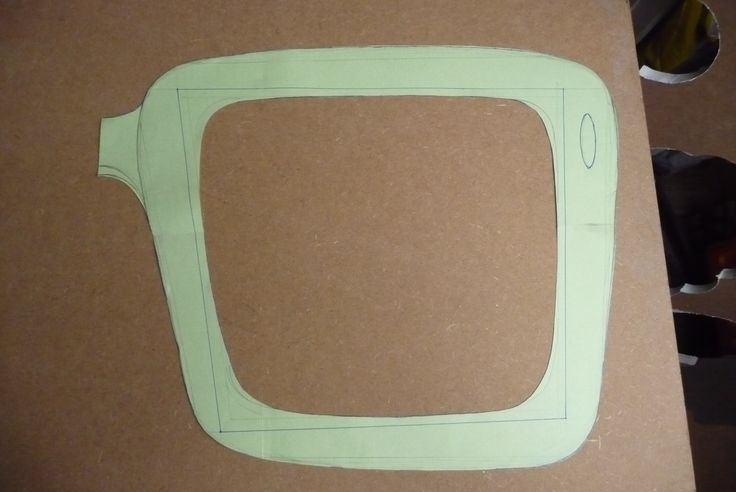 Once we are happy with design, I cut it out - also take measurements so that it will fit into the postal box that we will eventually be sending away in - if its too big it will cost us or the clients lots of bucks..!!! Very expensive once your package goes outside the limitations set by your postal company..!!  Our mirrors are on sale here: https://www.etsy.com/shop/funkymirrors?ref=si_shop
