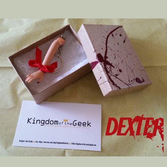 Dexter: Ice Truck Killer Polished Nails Keychain