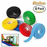 Review for Shackcom Building Block Tape 6 Rolls Peel and Stick Washable Silicone Loops Mult... - Catherine HALLETT  - Blog Booster