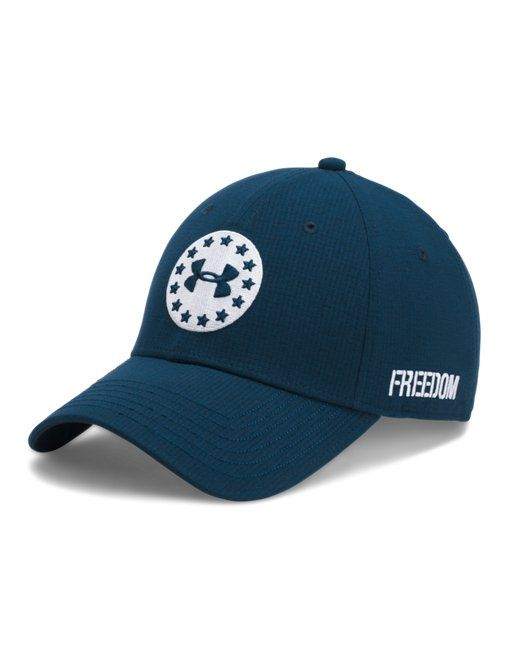 3f3ebf7b4 Shop Under Armour for Men's UA Freedom Jordan Spieth Tour Cap in our Men's  Golf Headwear department. Free shipping is available in US.