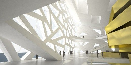 Opera house in Yuhang by Henning Larsen Architects