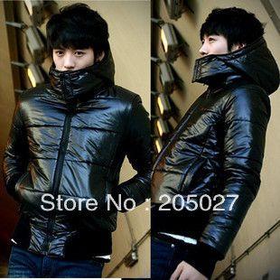Куртка хлопок - мягкий, зима вилочная часть черный приталенный свободного покроя ватные пальто 50nuo прямая поставка