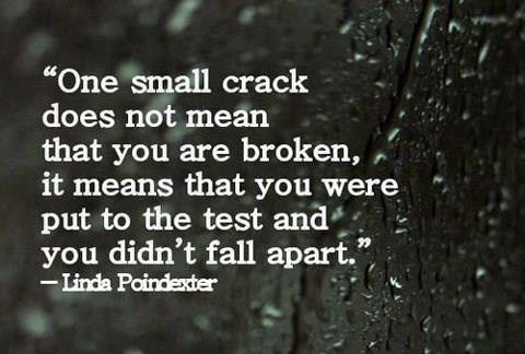 One Small Crack #MotivationalMonday #Inspirational #Quotes #MotivationalQuote #StrengthQuote (scheduled via http://www.tailwindapp.com?utm_source=pinterest&utm_medium=twpin&utm_content=post105745821&utm_campaign=scheduler_attribution)