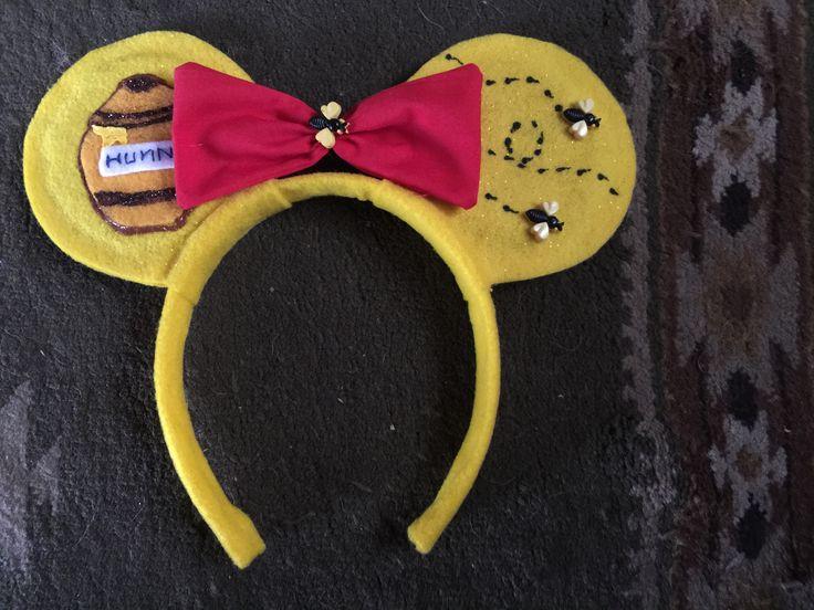 how to make winnie the pooh ears