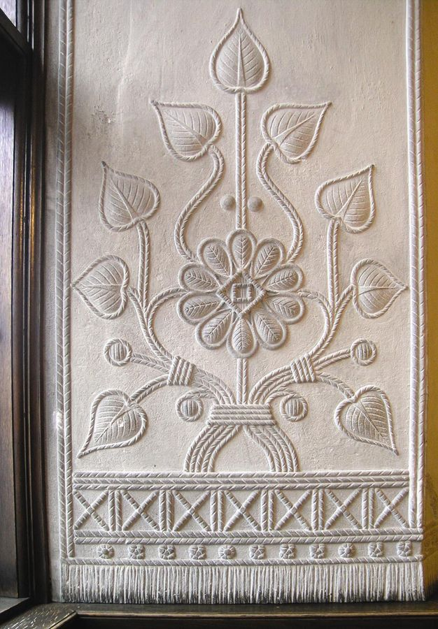 Hedebo Embroidery, traditional white-on-white stitchery from 1700s-1900s / skills and tradition is unusual because it started with the peasant class before being adopted by upper class