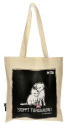 PETA Einkaufstasche Stoppt Tierquälerei von PETA kaufen bei PETA SHOP (People for the Ethical Treatment of Animals)