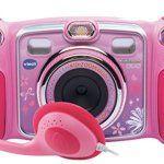 Vtech – 170855 – Appareil Photo Numérique – Kidizoom Duo – Rose: Descriptif produit: L'appareil photo des juniors avec double objectif et…