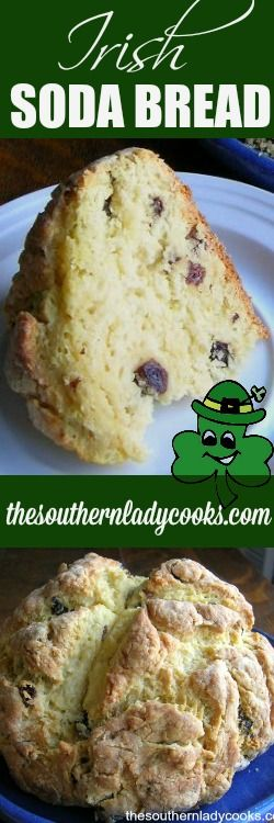 Here's an easy way to celebrate St. Patrick's Day.  Make this traditional Irish soda bread.  Irish soda bread is so good right from the oven slathered with butter. Serve Irish soda bread with a meal …