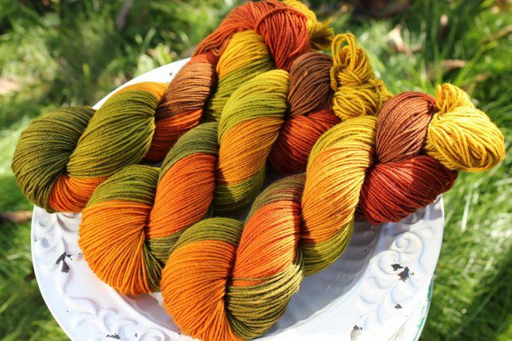Farewells - Włóczka farbowana ręcznie - YarnAndArt - Włóczki ręcznie barwione