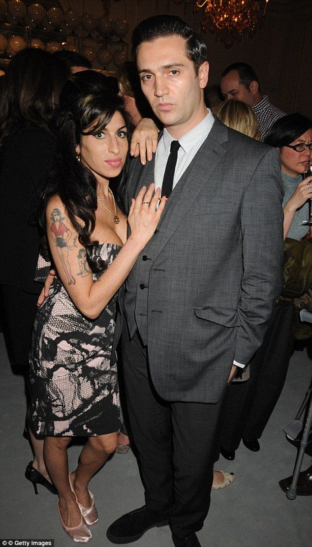 Revelation: Amy Winehouse's father Mitch has commented on Amy's relationship with boyfriend Reg Traviss, claiming the pair were potentially expecting to start a family together before her death in July 2011