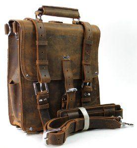 Leather vintage backpacks