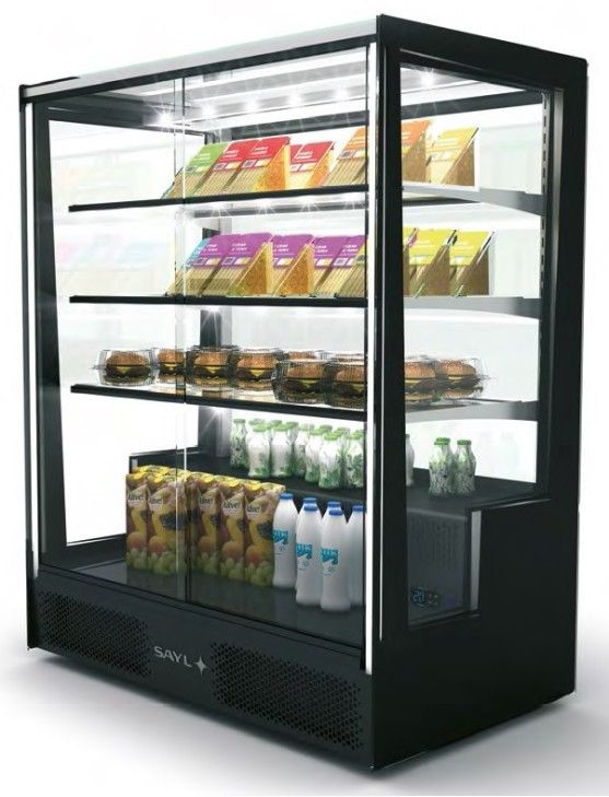 PAD Low height display capital refrigeration