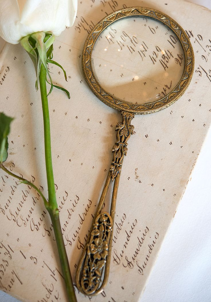 Ornate Antique Magnifying Glass