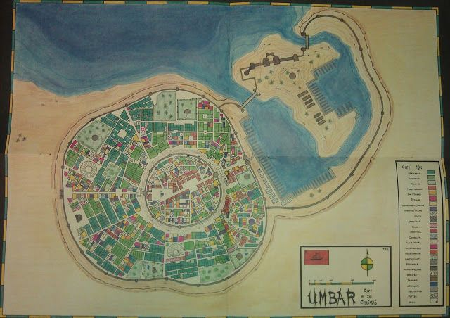map of umbar city of corsairs hobbit lotr middleearth map