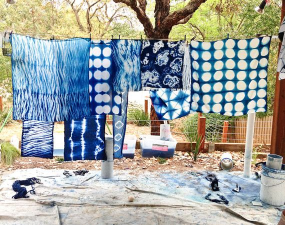"""Etsy.com handmade and vintage goods - The Etsy Blog - Tips, tricks and links on the ART of INDIGO dying called SHIBORI.  Takes """"tie dye"""" to to a whole new level beyond """"I would never have anything to do with that"""" to """"I MUST make this my new obsession."""". Simply captivating."""