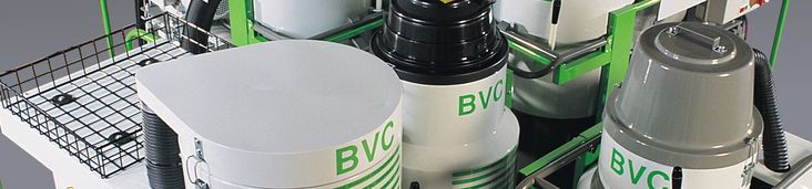INDUSTRIAL VACUUM CLEANERS BVC