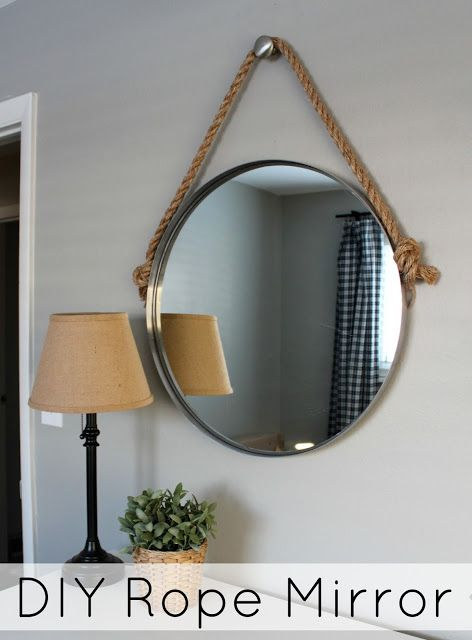Wonderfully Made: DIY Rope Mirror