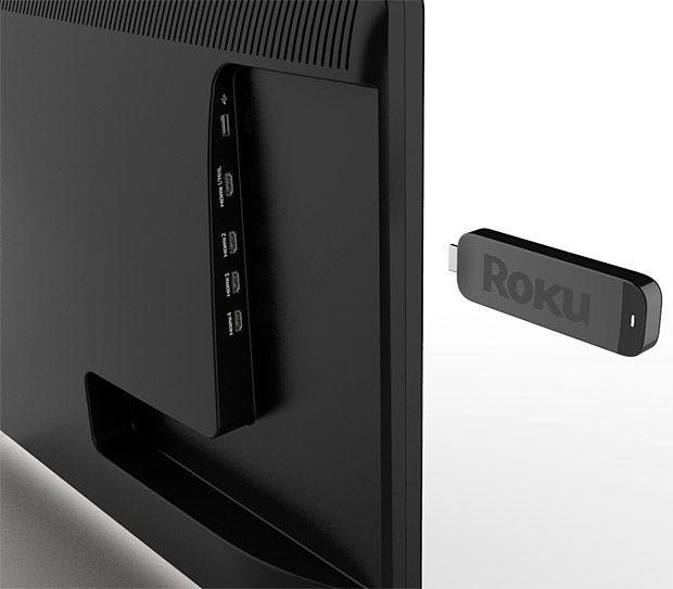 Roku Streaming stick, turn your flat screen into a smart TV