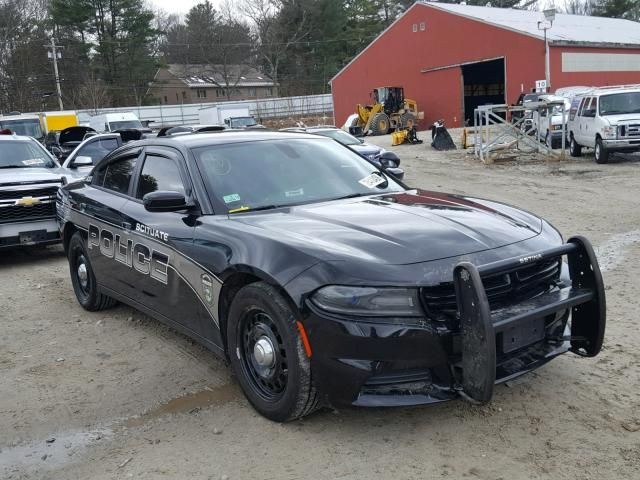 Salvage 2016 Dodge Charger Police Interceptor With Images