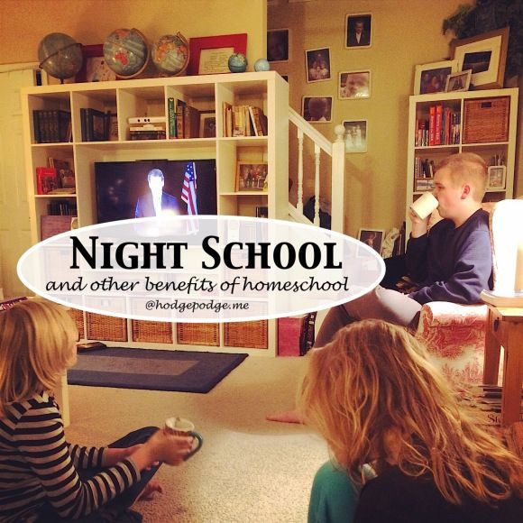 Night Classes and Other Benefits of Homeschool at Hodgepodge