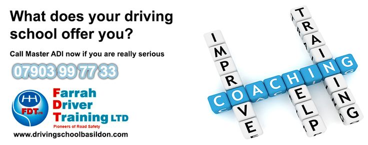 Are you making progress in your driving lessons?