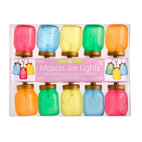 Everyone will ask where you found these adorable and unique mini Mason jar string lights!