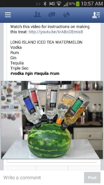 How to make Vodka Watermelon! - Tipsy Bartender