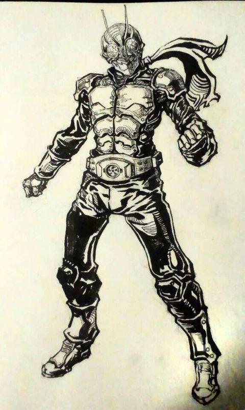 仮面ライダー 1號 Masked Rider Kamen Rider
